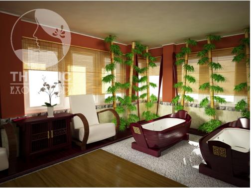 Không gian lãng mạn và du dương sẽ cho bạn khoảng thời gian làm đẹp và thư giãn tuyệt vời.