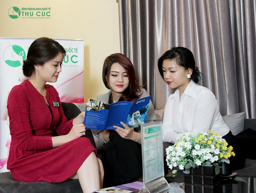 Là chi nhánh chính thức tại TP HCM trực thuộc Bệnh viện Đa khoa Quốc tế Thu Cúc, Thẩm mỹ Thu Cúc Sài Gòn cam kết mang đến cho khách hàng chất lượng và sự phục vụ tốt nhất.