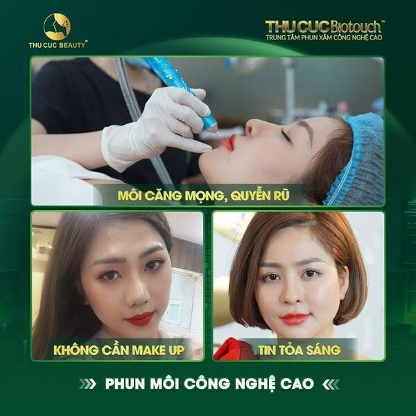 Phun môi 6D giúp chị em khắc phục đôi môi nhợt nhạt, thâm sỉn, thiếu sức sống.