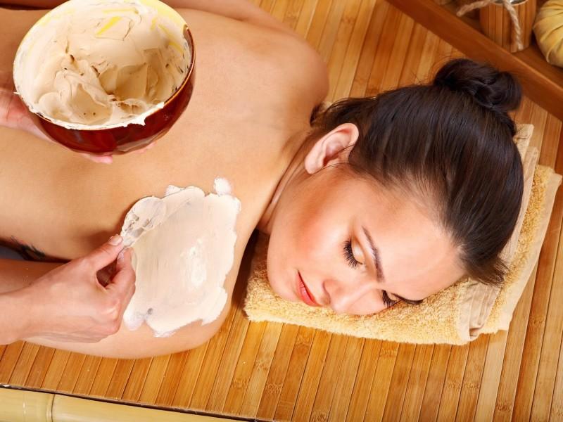 Tắm trắng cám gạo