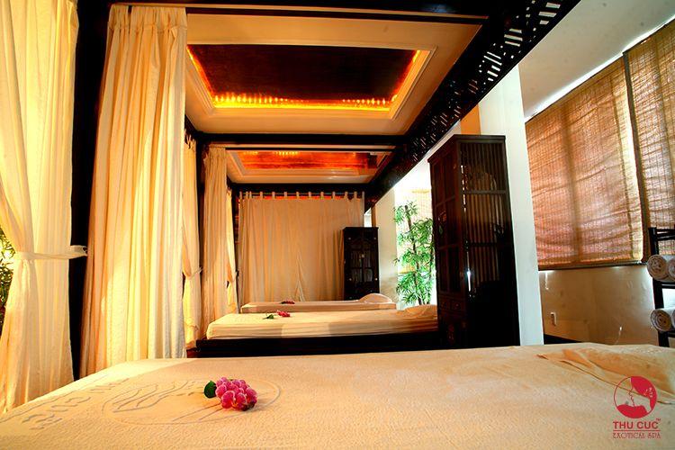 Phòng làm đẹp trang nhã, tinh tế của Thu Cúc Sài Gòn
