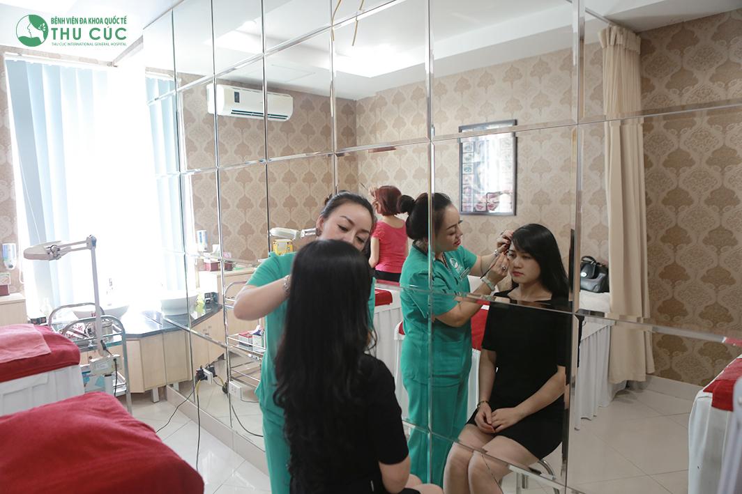 Cách phun xăm lông mày