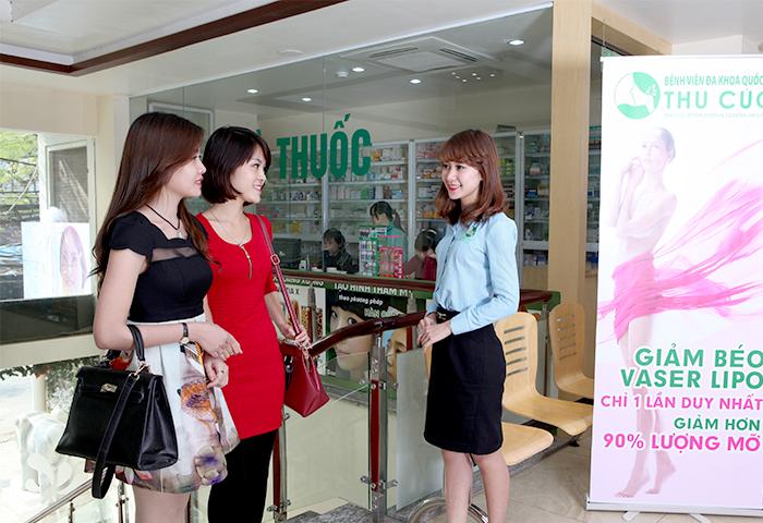 Thu Cúc Sài Gòn cam kết mang lại dịch vụ triệt lông tốt nhất cho khách hàng.