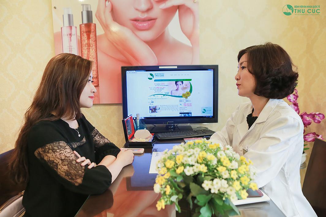 Tùy vào đặc điểm gương mặt của mỗi khách hàng, bác sĩ sẽ tư vấn cho bạn phương pháp nâng gò má phù hợp