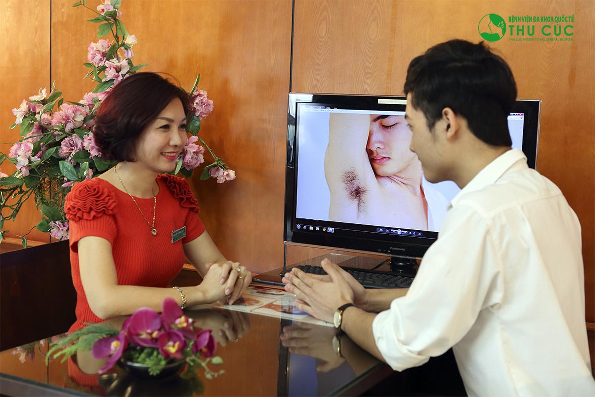 Thẩm mỹ Thu Cúc Sài Gòn hiện đang áp dụng 3 phương pháp điều trị hôi nách an toàn và hiệu quả