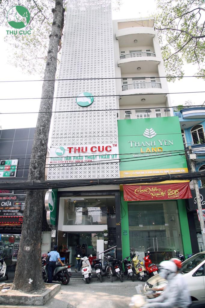 Thẩm mỹ Thu Cúc Sài Gòn là địa chỉ nâng mũi đẹp, an toàn