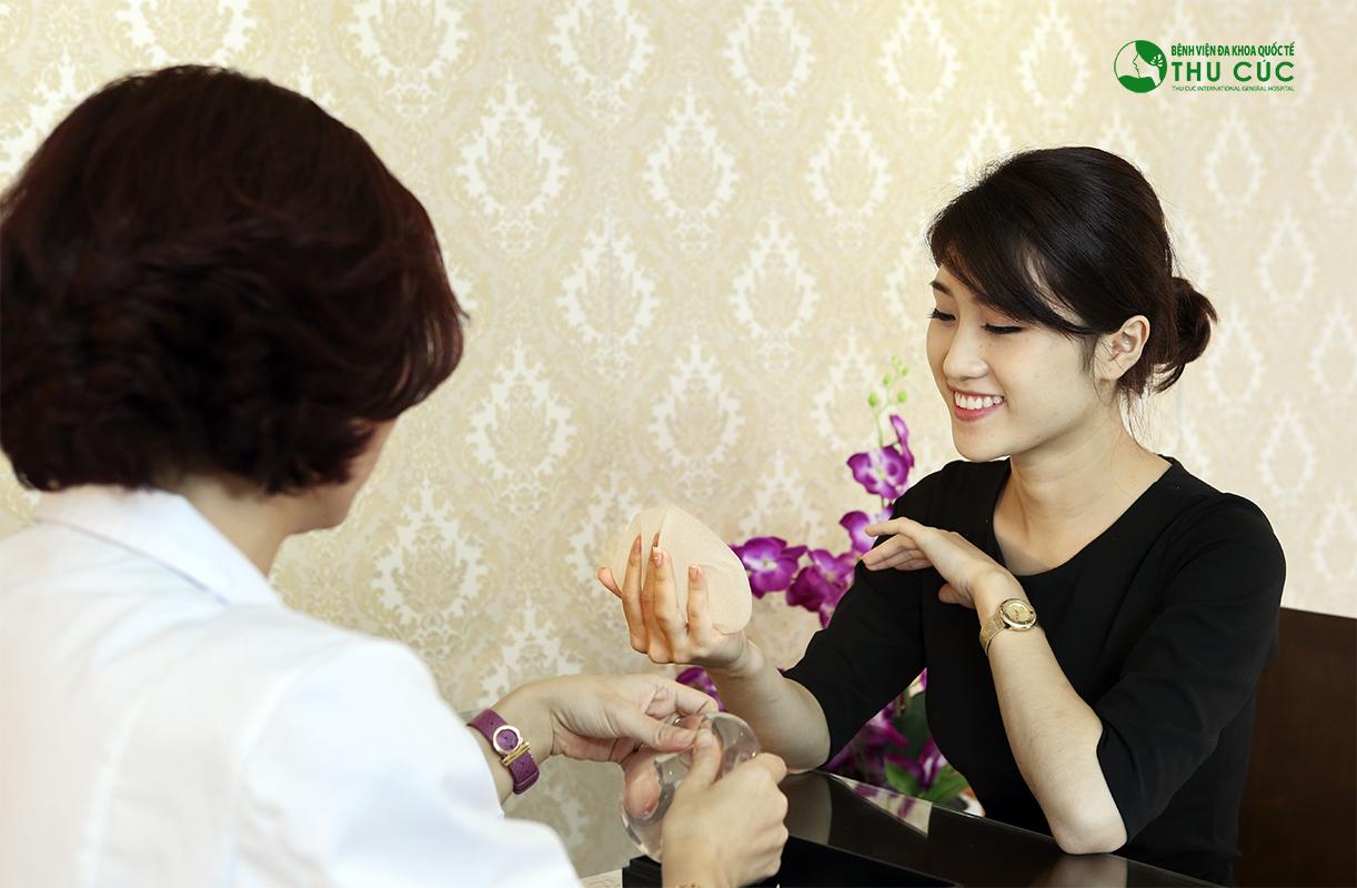Quá trình phẫu thuật nâng ngực nội soi