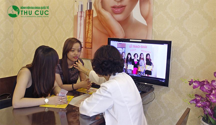 Tại thẩm mỹ Thu Cúc Sài Gòn, công nghệ triệt lông lâu dài Laser Diode nhận được rất nhiều phản hồi tích cực của khách hàng
