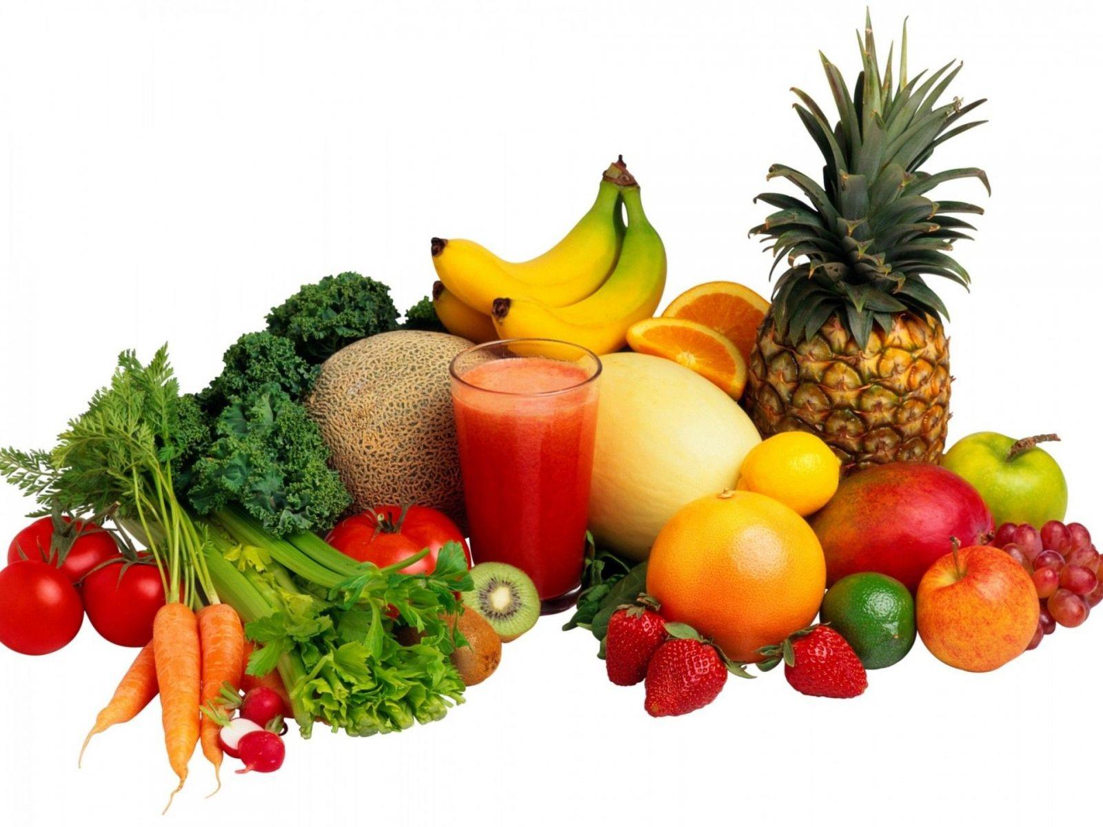 Rau xanh, trái cây là những lựa chọn tốt giúp bạn đánh tan mỡ vùng bụng