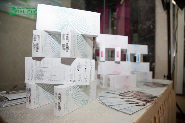 Thu Cúc Sài Gòn sử dụng các loại chất làm đầy được nhập khẩu chính hãng