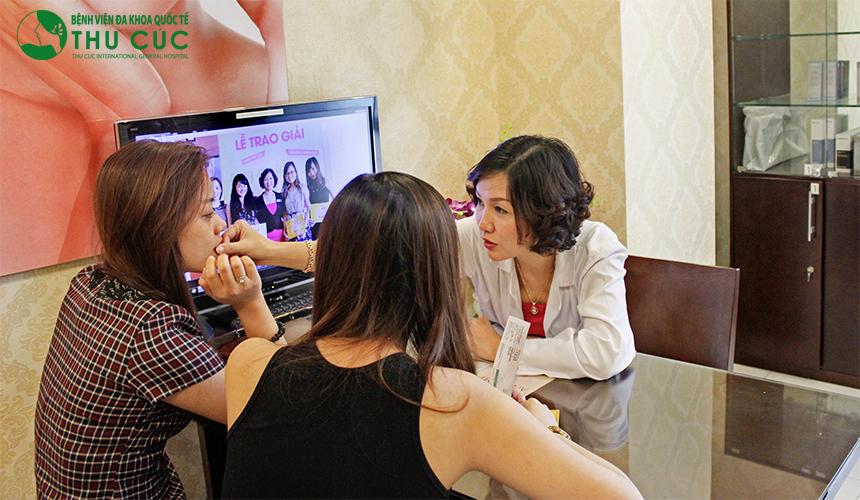 Chi phí độn cằm không phẫu thuật tại thẩm mỹ Thu Cúc Sài Gòn là 12 triệu/cc