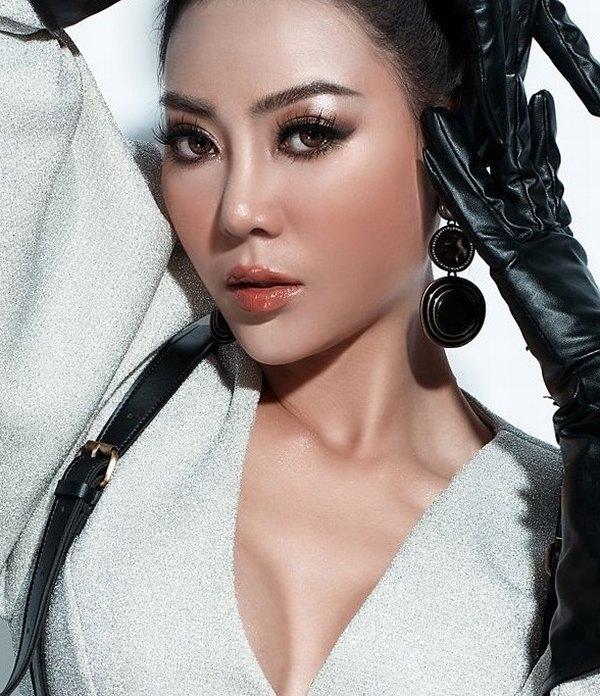 Chỉ cần dáng mũi đẹp, khuôn mặt của nữ diễn viên Thanh Hương xinh đẹp và nổi bật hơn rất nhiều