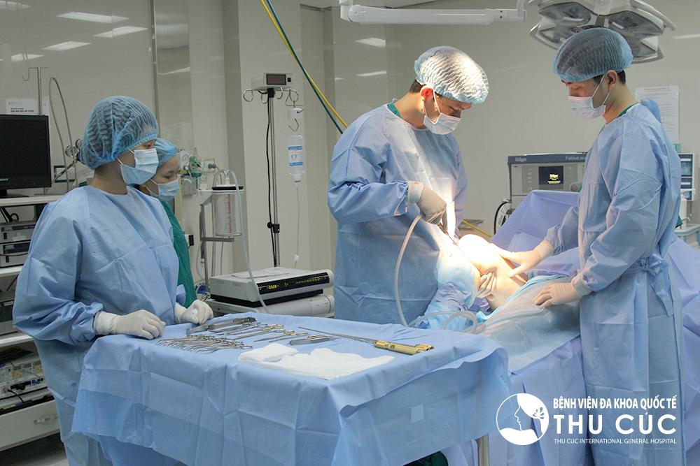 Dịch vụ nâng ngực ở Thu Cúc được thực hiện tại bệnh viện theo đúng quy định của Bộ y tế