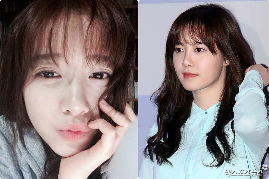 """Nàng """"cỏ"""" Goo Hye Sun luôn giữ được làn da trắng mịn không tì vết dù thường xuyên phải làm việc ngoài trời. Cô cho biết mình kết thân với dòng mỹ phẩm thiên nhiên chiết xuất từ nhân sâm và thảo dược."""