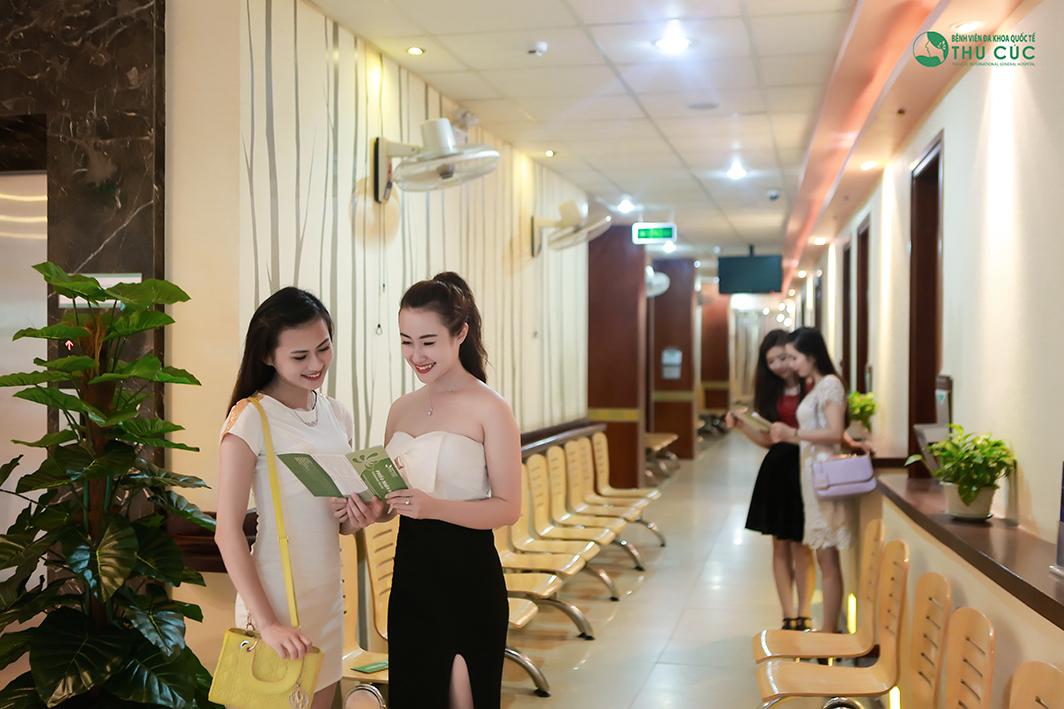 Phái đẹp Sài Thành tới Thu Cúc cải thiện dáng cằm để trở nên xinh đẹp hơn