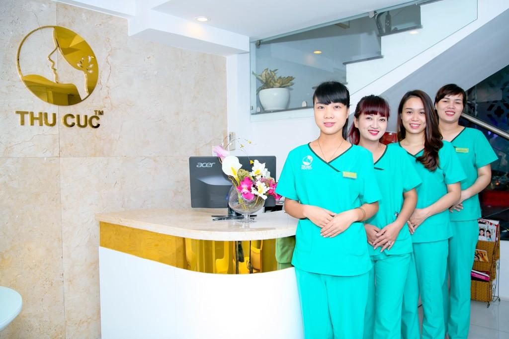Thẩm mỹ Thu Cúc Sài Gòn luôn hân hoan chào đón mọi khách hàng và nỗ lực không ngừng để đem đến những giá trị thẩm mỹ đích thực.