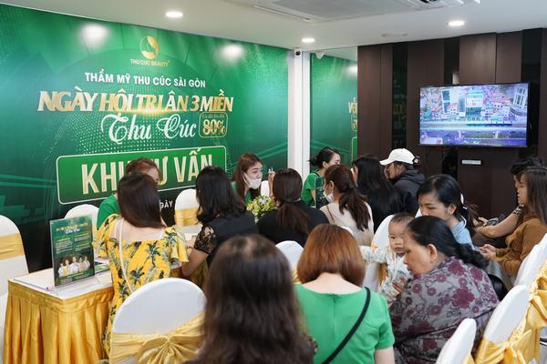 Đông đảo chị em tin chọn dịch vụ chăm sóc thẩm mỹ tại Thu Cúc