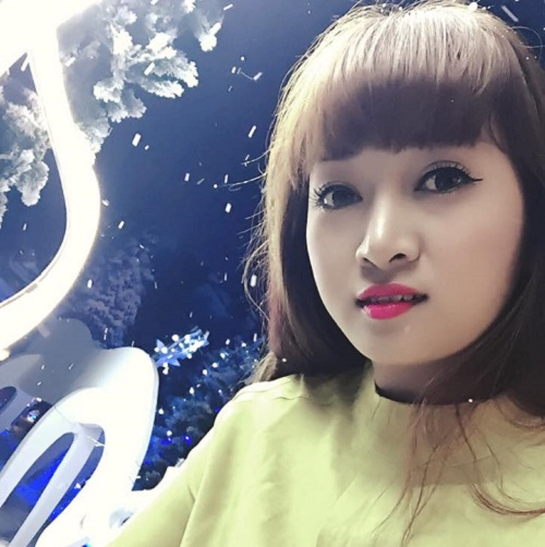 Thúy Hằng (1989) – khách hàng đã thực hiện bấm mí tại Thu Cúc để có được diện mạo xinh tươi hơn với đôi mắt to đẹp long lanh.