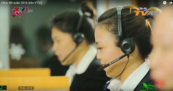 Bộ phận tổng đài vẫn thường trực 24/24 để hỗ trợ khách hàng trong dịp Tết