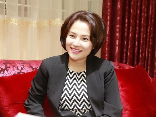 Chủ tịch Nguyễn Thu Cúc trong cuộc phỏng vấn với Báo Đầu tư