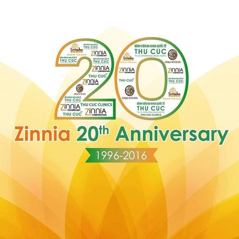 Những ngày này, hình ảnh Zinnia – 20 năm một chặng đường ngập tràn trên facebook vì được đồng loạt gần 2000 cán bộ nhân viên cùng người thân thay làm hình ảnh đại diện, thể hiện sự gắn kết của Tập đoàn