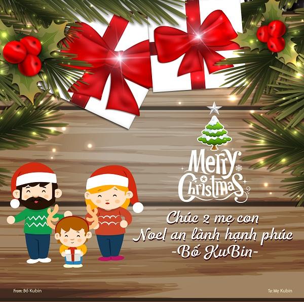 """""""Gửi người tôi yêu"""" – Chương trình nhận thiệp Noel ngọt ngào của Thu Cúc"""