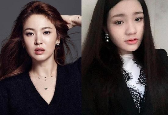 Đôi mắt hai mí rõ rệt to tròn hơn sau khi cắt mí. Các đường nét khác trên khuôn mặt từ đó cũng được tôn lên sắc nét. Quả thực nhìn mắt đẹp của Thảo Ly đâu thua kém Song Hye Kyo là mấy!