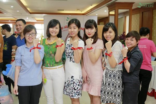 Bệnh viện Đa khoa Quốc tế Thu Cúc thể hiện quyết tâm của mình trong hoạt động thiện nguyện hiến máu cứu người.