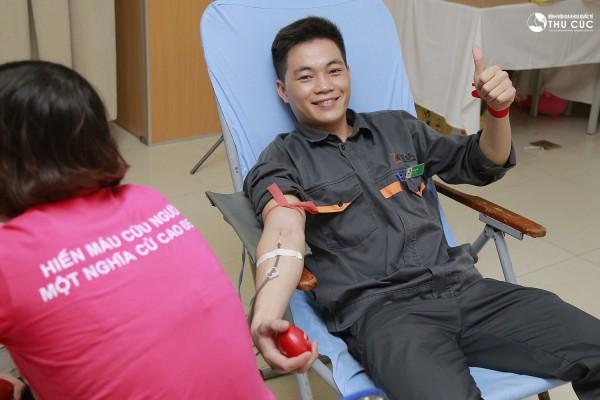 Cán bộ nhân viên tất cả các bộ phận trong tập đoàn Zinnia đều nhiệt tình tham gia hiến máu nhân đạo.
