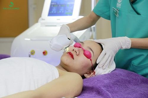 Cận cảnh quá trình nâng cơ xóa nhăn, trẻ hóa da an toàn tại Thu Cúc Clinics.