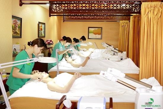 Thu Cúc Clinic Sài Gòn và những dịch vụ tiêu biểu