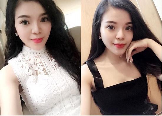 Mặc dù thay đổi nhiều style khác nhau nhưng chỉ cần make-up nhẹ nhàng, Trung Thủy vẫn luôn nổi bật rạng ngời.
