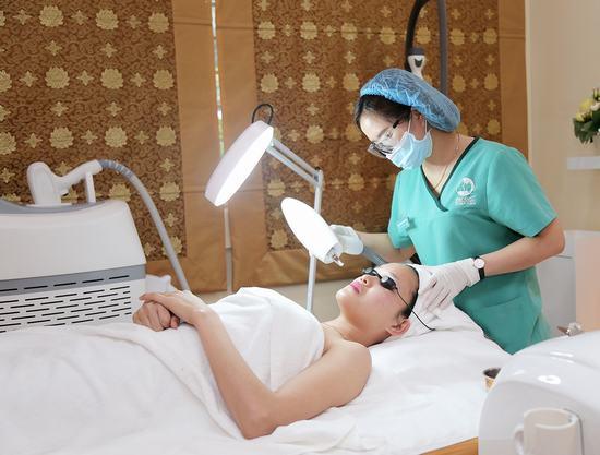 Công nghệ Laser YAG giúp điều trị nám an toàn và hiệu quả