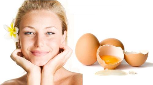 Trứng gà là nguyên liệu trị tàn nhang an toàn và cho hiệu quả tối ưu