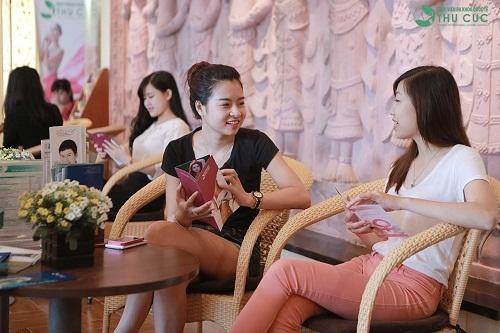 Rất nhiều chị em đến làm đẹp tại địa chỉ Thu Cúc Sài Gòn