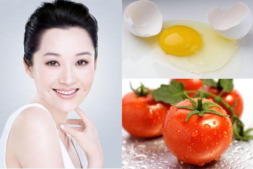 Mặt nạn trứng gà cà chua phù hợp với da nhạy cảm