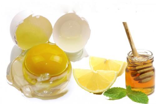 Mặt nạ trứng gà và chanh phù hợp cho làn da dầu