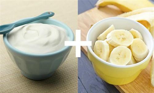Kết hợp sữa chua và chuối sẽ giúp giảm nám hiệu quả