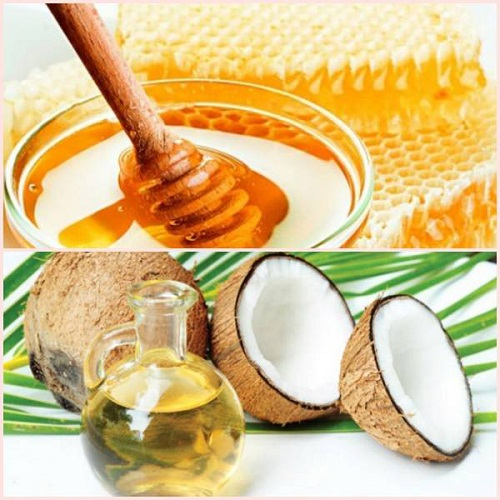 Kết hợp dầu dừa và mật ong rừng để giúp điều trị nám hiệu quả