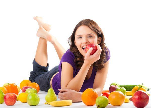 Để ngăn ngừa tàn nhang bạn nên có một chế độ ăn uống lành mạnh