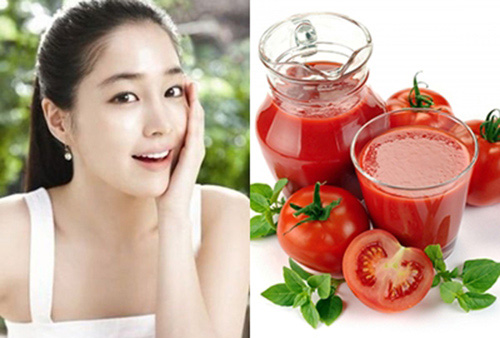 Rất nhiều chị em chọn cà chua là nguyên liệu trị nám hàng đầu
