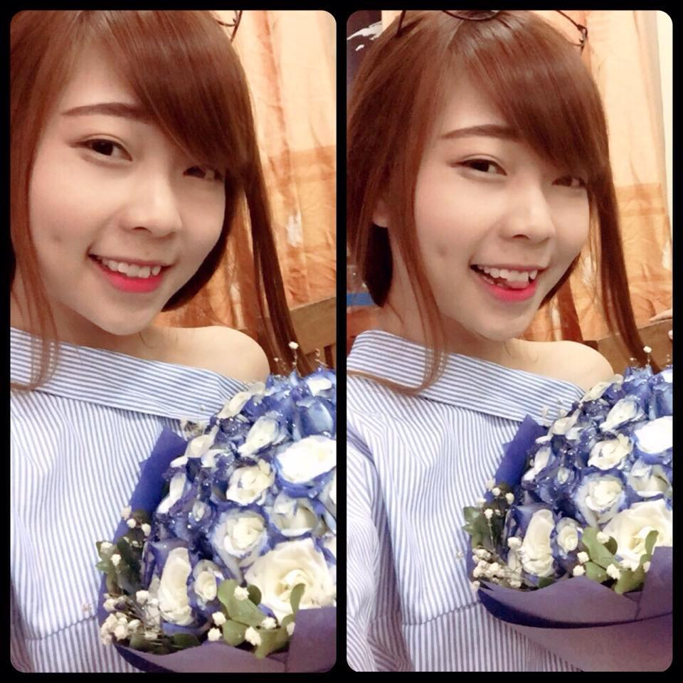 9x Nguyễn Hạnh tạo má lúm, tân trang nhan sắc đón xuân