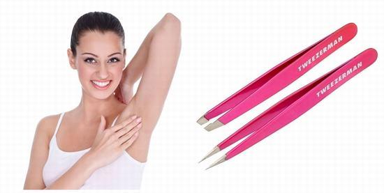 Nhổ lông nách bằng nhíp không mang lại hiệu quả lâu dài và khiến làn da bị thâm sạm