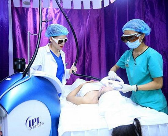 IPL là công nghệ trị thâm mang lại hiệu quả cao và đã được ứng dụng thành công tại Thu Cúc Sài Gòn