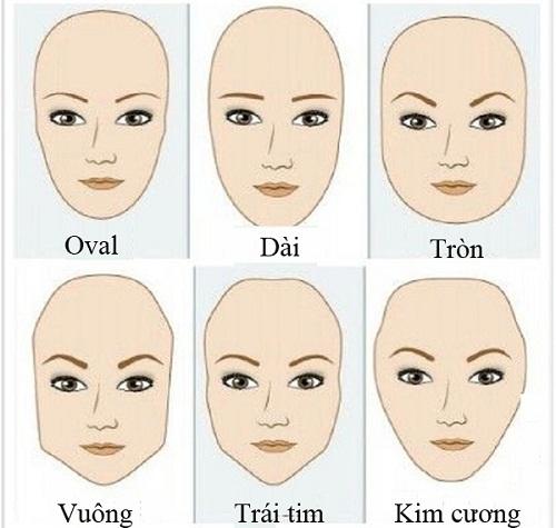Tùy theo từng dáng khuôn mặt để vẽ lông mày cho phù hợp.