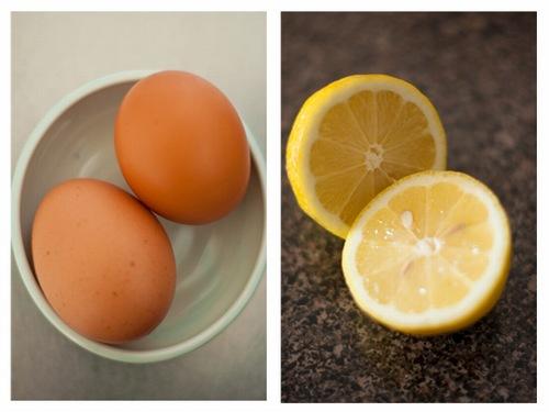 Hỗn hợp chanh và lòng trắng trứng gà không chỉ làm sáng da, mờ vết thâm tẩy da chết, các bã nhờn tích tụ ở lỗ chân lông mà còn giúp tẩy lông hiệu quả.