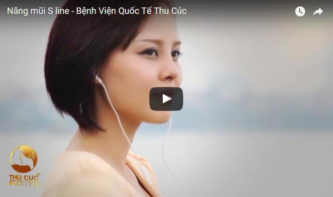 Nâng mũi S line – Thẩm mỹ Thu Cúc Sài Gòn
