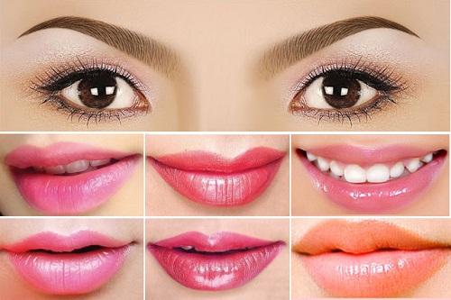 Màu môi, mắt và chân mày đẹp là kết quả của cả quá trình thực hiện tỉ mỉ, đúng tiêu chuẩn Bộ Y Tế