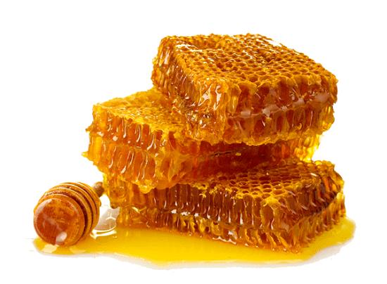 Tẩy lông chân bằng áp ong