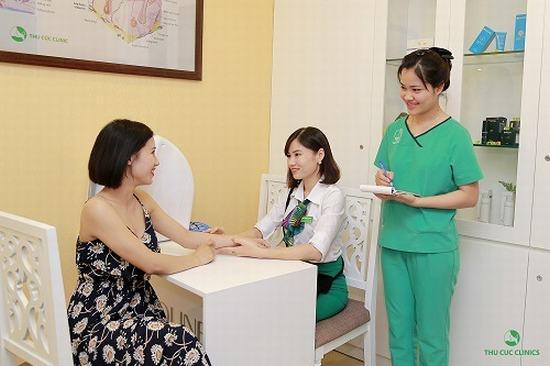 Bằng các phương pháp y khoa hiện đại, các bác sĩ da liễu ở Thu Cúc sẽ thăm khám, xác định nguyên nhân và tư vấn phương pháp điều trị phù hợp nhất.